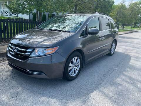 2014 Honda Odyssey for sale at Eddie's Auto Sales in Jeffersonville IN