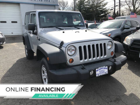 2012 Jeep Wrangler for sale at 103 Auto Sales in Bloomfield NJ