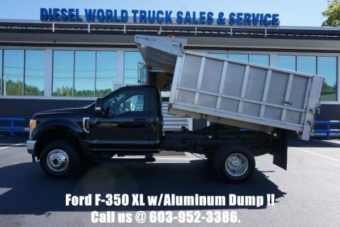 2017 Ford F-350 Super Duty for sale at Diesel World Truck Sales - Dump Truck in Plaistow NH