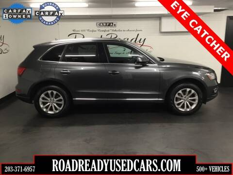 2016 Audi Q5 for sale at Road Ready Used Cars in Ansonia CT