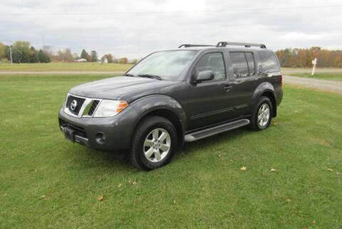 2011 Nissan Pathfinder for sale at Clearwater Motor Car in Jamestown NY