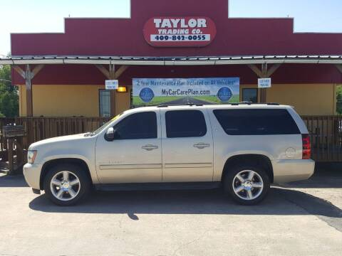 2009 Chevrolet Suburban for sale at Taylor Trading Co in Beaumont TX