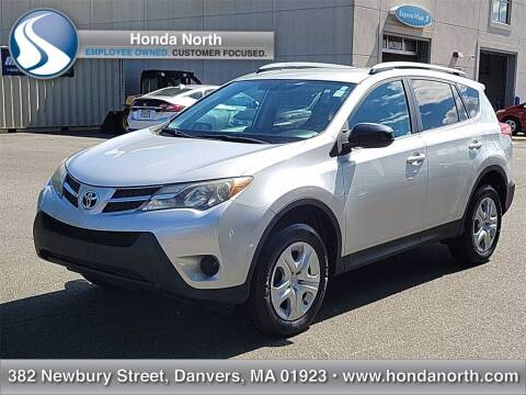 2013 Toyota RAV4 for sale at 1 North Preowned in Danvers MA