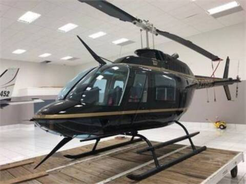 1984 Bell 206 BIII for sale at Motorcars Washington in Chantilly VA