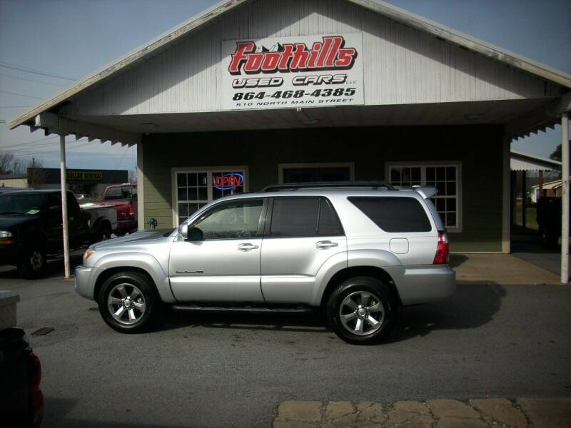 2008 Toyota 4Runner for sale at Foothills Used Cars LLC in Campobello SC