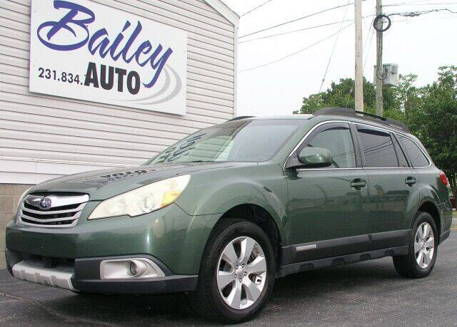 2010 Subaru Outback for sale at Bailey Auto LLC in Bailey MI