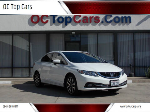 2015 Honda Civic for sale at OC Top Cars in Irvine CA