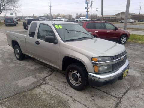2006 Chevrolet Colorado for sale at Regency Motors Inc in Davenport IA