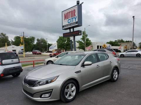 2015 Kia Optima for sale at Motor City Sales in Wichita KS