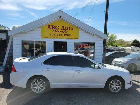 2012 Ford Fusion for sale at ABC AUTO CLINIC - Chubbuck in Chubbuck ID