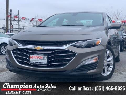 2020 Chevrolet Malibu for sale at CHAMPION AUTO SALES OF JERSEY CITY in Jersey City NJ