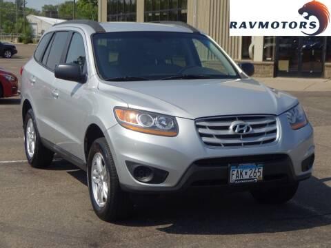 2010 Hyundai Santa Fe for sale at RAVMOTORS 2 in Crystal MN