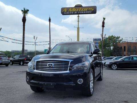 2014 Infiniti QX80 for sale at A MOTORS SALES AND FINANCE in San Antonio TX