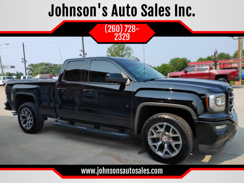 2018 GMC Sierra 1500 for sale at Johnson's Auto Sales Inc. in Decatur IN