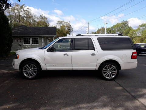 2017 Ford Expedition EL for sale at Feduke Auto Outlet in Vestal NY