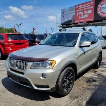 2012 BMW X3 for sale at America Auto Wholesale Inc in Miami FL
