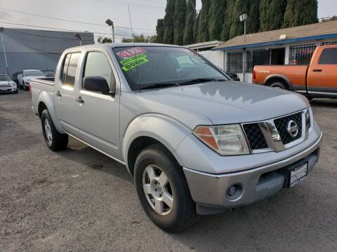 2005 Nissan Frontier for sale at LR AUTO INC in Santa Ana CA