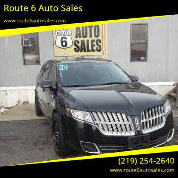 2010 Lincoln MKT for sale at Route 6 Auto Sales in Portage IN