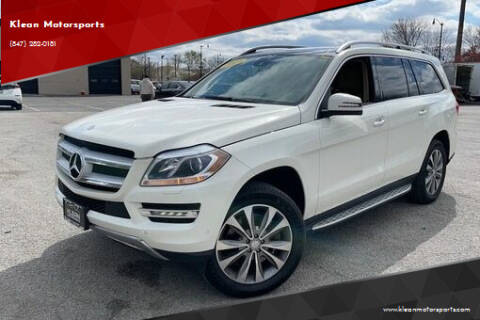 2013 Mercedes-Benz GL-Class for sale at Klean Motorsports in Skokie IL