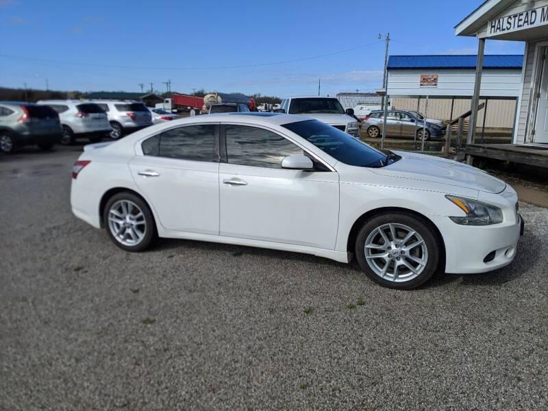 2010 Nissan Maxima for sale at Halstead Motors LLC in Halstead KS