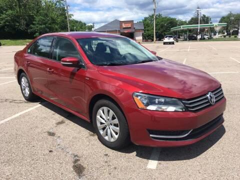 2015 Volkswagen Passat for sale at Borderline Auto Sales in Loveland OH
