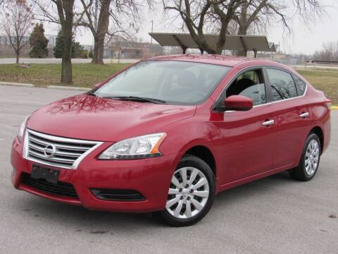 2014 Nissan Sentra for sale at Highland Luxury in Highland IN