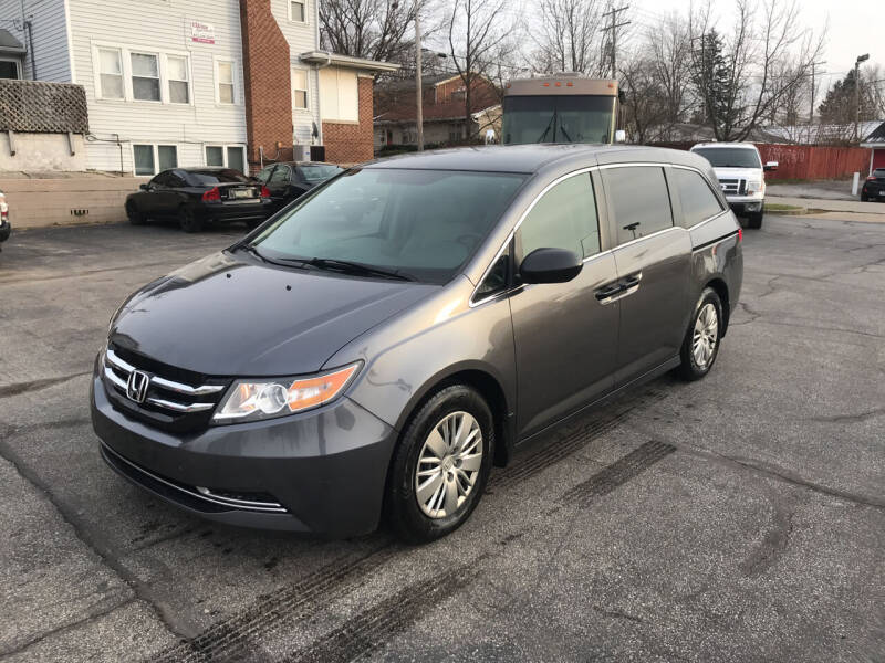 2016 Honda Odyssey for sale at Indiana Auto Sales Inc in Bloomington IN