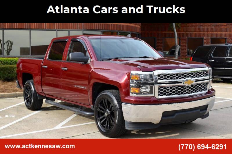 2014 Chevrolet Silverado 1500 for sale at Atlanta Cars and Trucks in Kennesaw GA