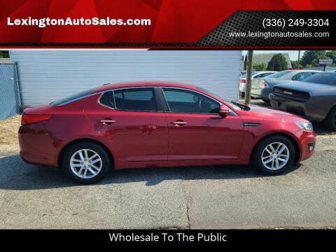 2012 Kia Optima for sale at LexingtonAutoSales.com in Lexington NC