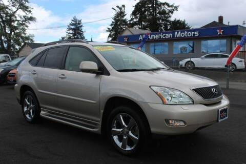 2007 Lexus RX 350 for sale at All American Motors in Tacoma WA