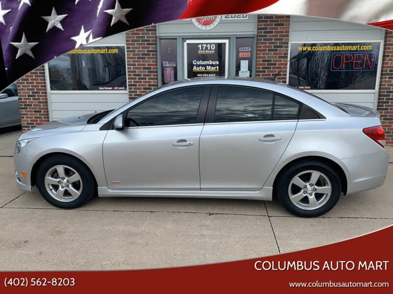 2014 Chevrolet Cruze for sale at Columbus Auto Mart in Columbus NE