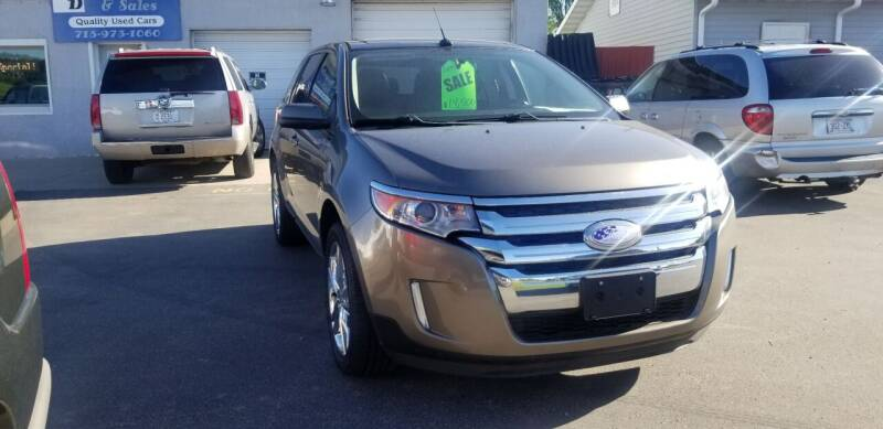 2013 Ford Edge for sale at D AND D AUTO SALES AND REPAIR in Marion WI