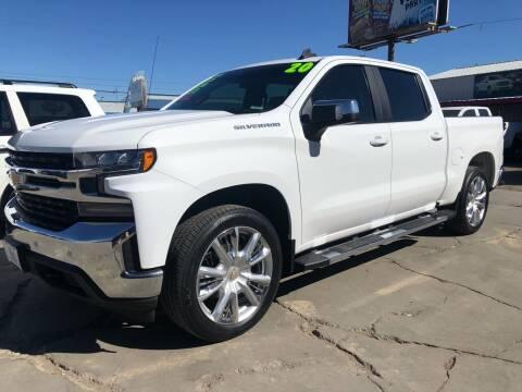 2020 Chevrolet Silverado 1500 for sale at MAGIC AUTO SALES, LLC in Nampa ID