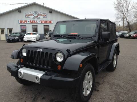 2009 Jeep Wrangler for sale at Steves Auto Sales in Cambridge MN