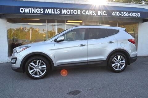 2014 Hyundai Santa Fe Sport for sale at Owings Mills Motor Cars in Owings Mills MD