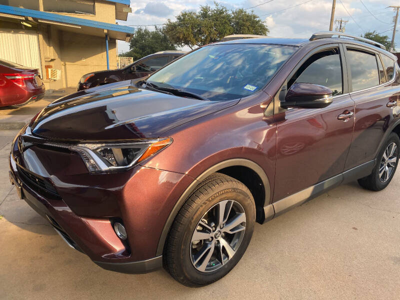 2018 Toyota RAV4 for sale at Ted's Auto Corporation in Richardson TX