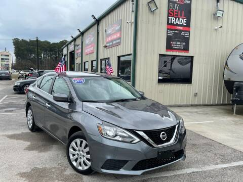 2016 Nissan Sentra for sale at Premium Auto Group in Humble TX