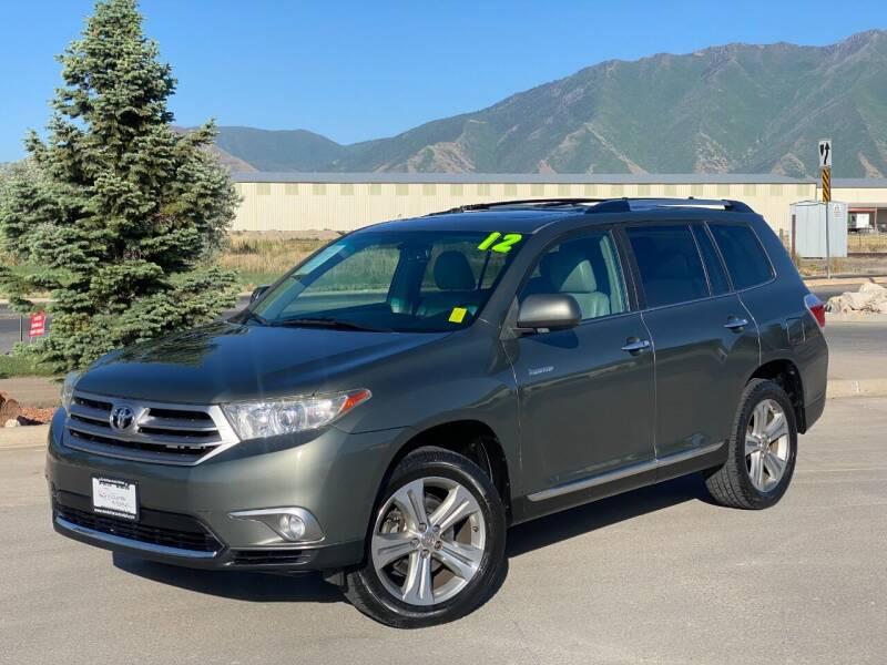 2012 Toyota Highlander for sale at Evolution Auto Sales LLC in Springville UT