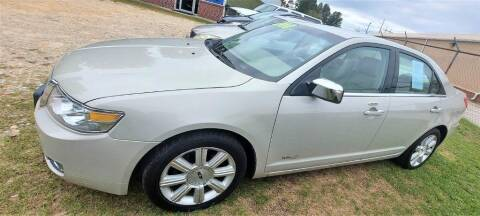 2007 Lincoln MKZ for sale at W & D Auto Sales in Fayetteville NC