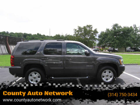 2010 Chevrolet Tahoe for sale at County Auto Network in Ballwin MO