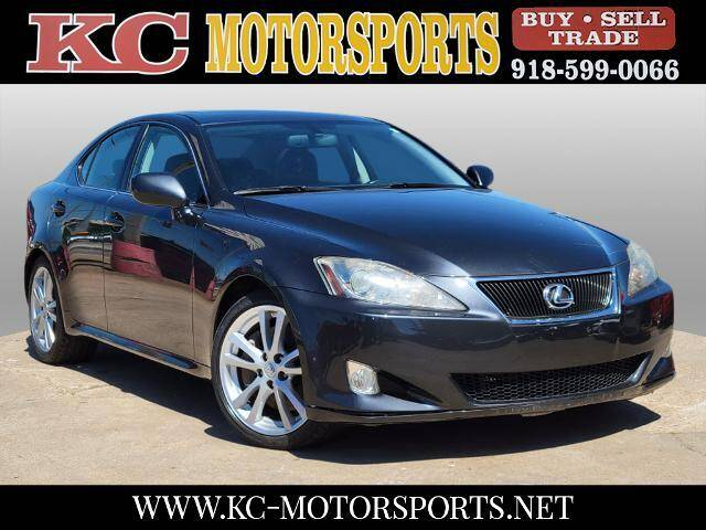 2006 Lexus IS 350 for sale at KC MOTORSPORTS in Tulsa OK