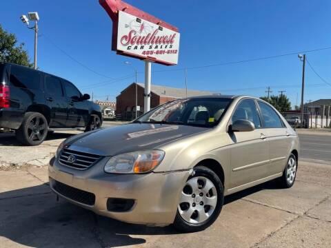 2008 Kia Spectra for sale at Southwest Car Sales in Oklahoma City OK