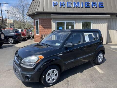 2012 Kia Soul for sale at Premiere Auto Sales in Washington PA