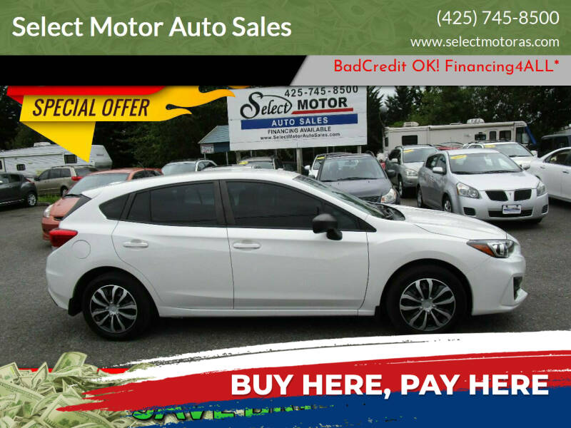 2019 Subaru Impreza for sale at Select Motor Auto Sales in Lynnwood WA