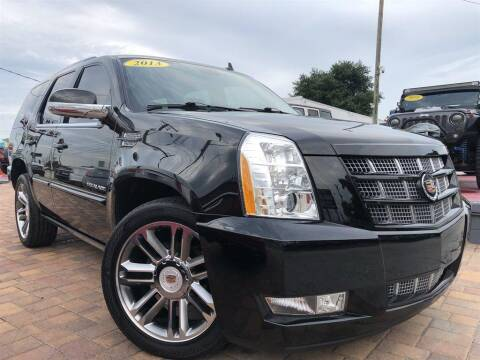 2013 Cadillac Escalade for sale at Cars of Tampa in Tampa FL