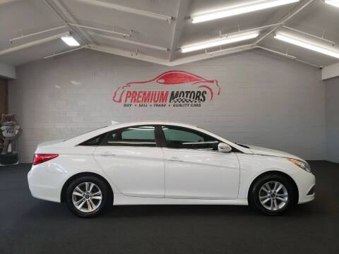 2014 Hyundai Sonata for sale at Premium Motors in Villa Park IL