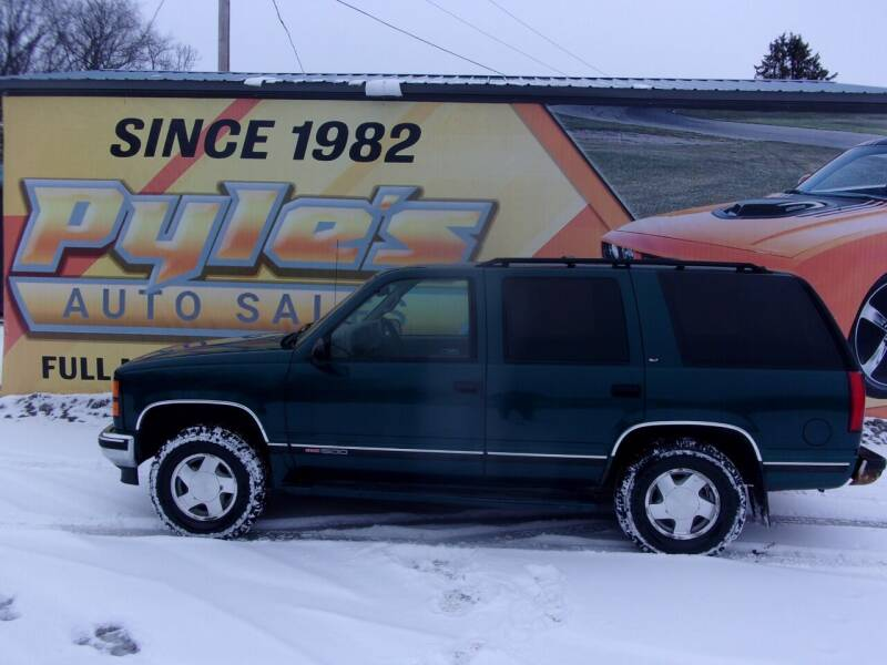 1998 GMC Yukon for sale at Pyles Auto Sales in Kittanning PA