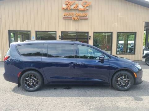 2019 Chrysler Pacifica for sale at K & L AUTO SALES, INC in Mill Hall PA