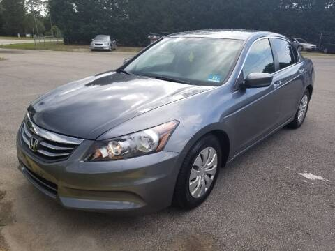2012 Honda Accord for sale at Pinnacle Acceptance Corp. in Franklinton NC