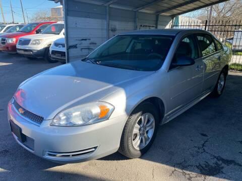 2012 Chevrolet Impala for sale at Silver Auto Partners in San Antonio TX